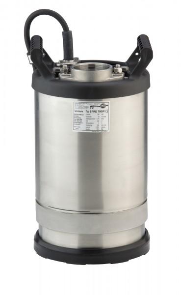 Schmutzwasserpumpe SPRE 370 W Flachsauger