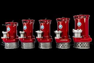 Schlamm-Tauchmotor-Pumpe SVX 455R