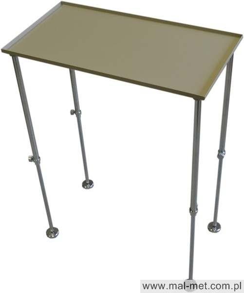 Tisch für Einblasgerät