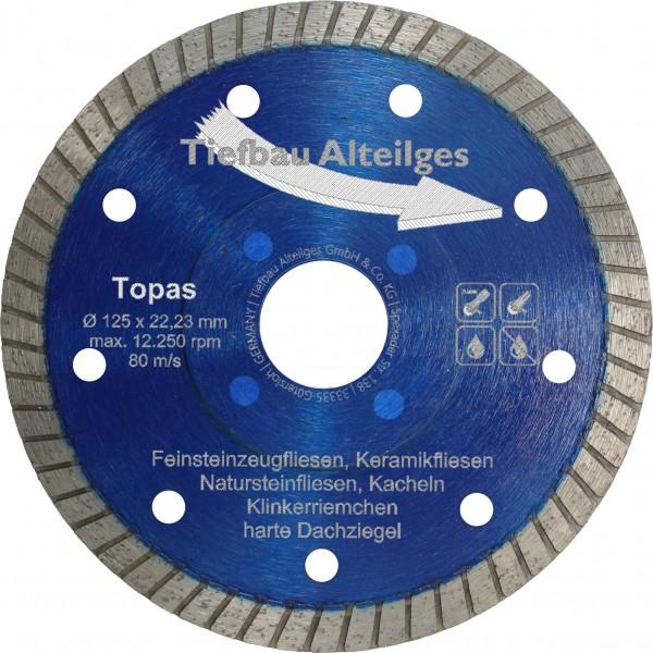 Diamant Trennscheibe TOPAS 125 mm