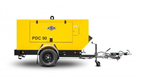 Fahrbarer Schraubenkompressor PDC 90