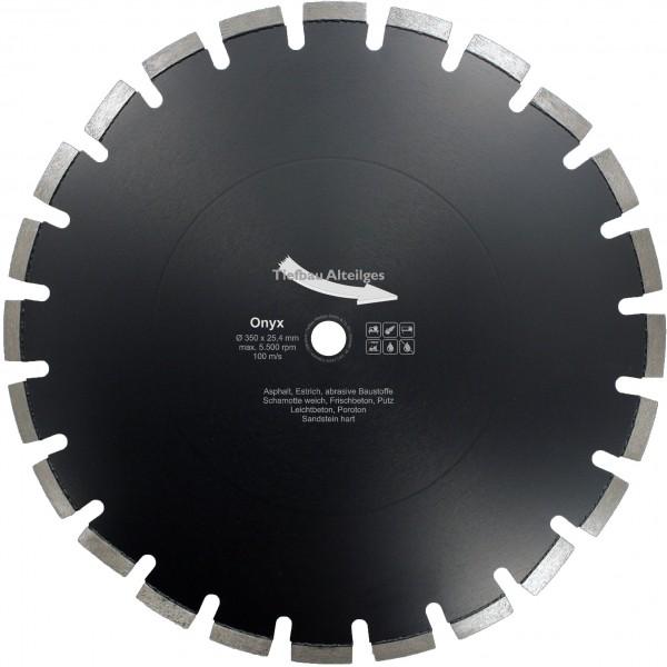 Diamant Trennscheibe ONYX 350 mm