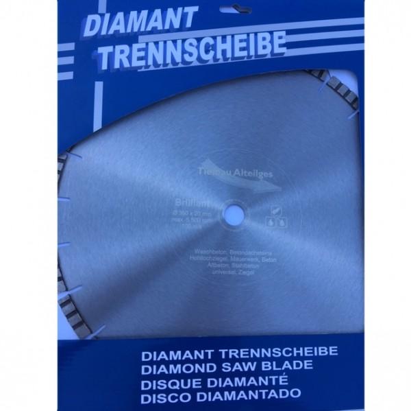 Diamant Trennscheibe 350 mm