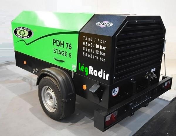 Fahrbarer Kompressor PDH 76 - 7,6 m3/min