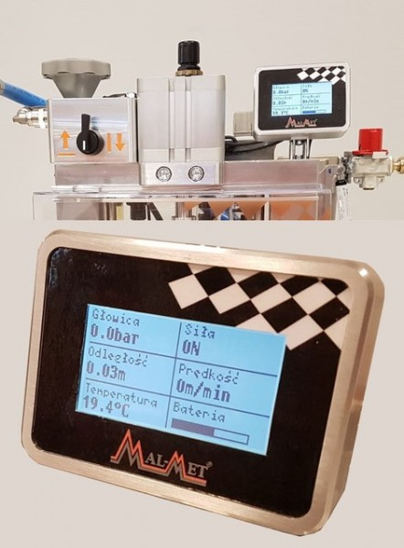 Einblasgerät MAH-4-D Universal Manual