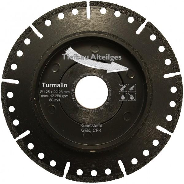 Diamant Trennscheibe TURMALIN 125 mm